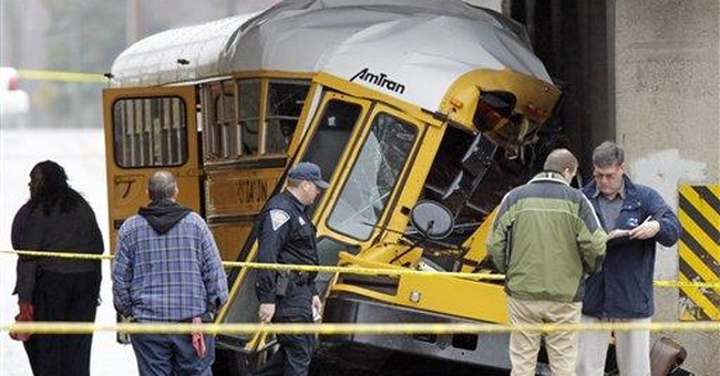 Child, driver killed in Indiana school bus crash