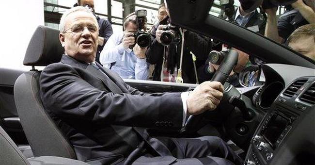 Volkswagen targets revenue rise in 2012