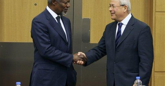 Diplomat: Syria answers Annan on ending violence
