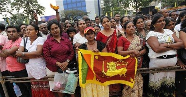 Sri Lanka gov't minister urges boycott of US goods