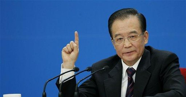 China's premier says further yuan rise unlikely