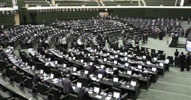 Ahmadinejad in hostile turf: Iran's parliament