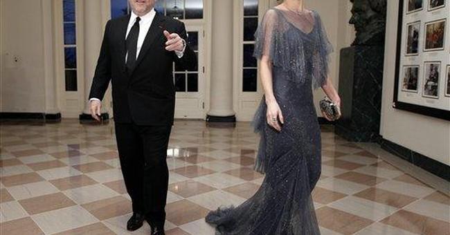 Michelle Obama wears Marchesa to state dinner