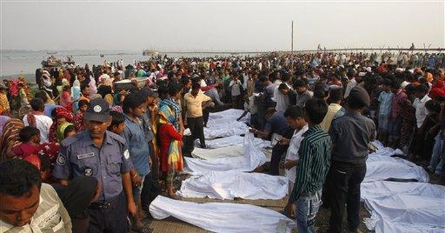 112 dead, more missing in Bangladesh ferry sinking