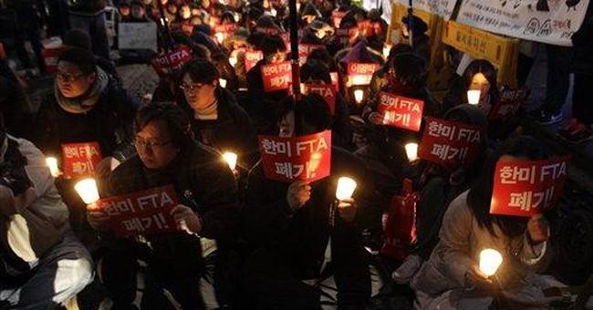 Long delayed SKorea-US trade deal takes effect