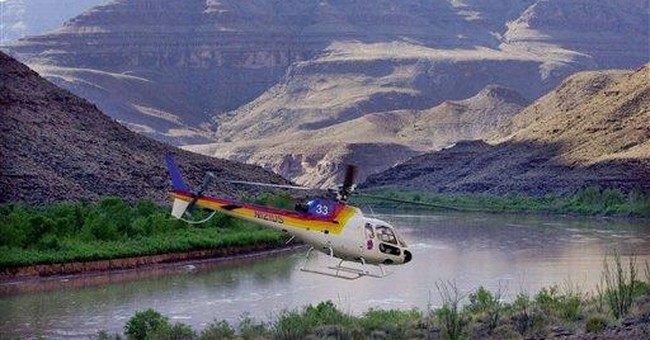 Jets not affected by rules for Grand Canyon tours