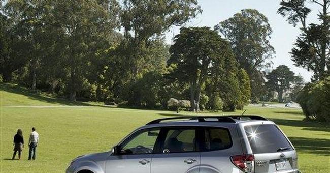 Subaru recalls Forester SUVs to fix seat belts