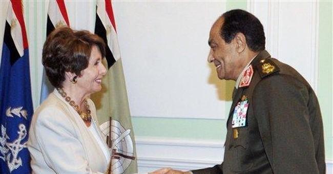Pelosi: US-Egypt relations strong despite NGO spat