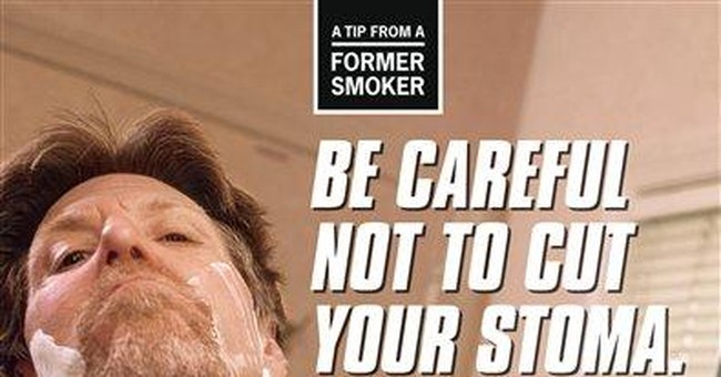 CDC launching graphic anti-smoking ad campaign