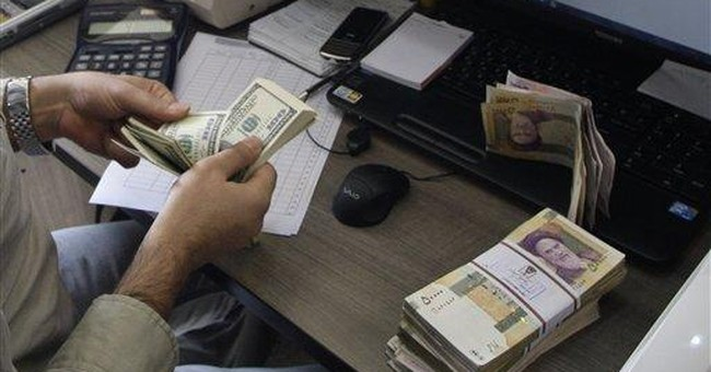 Iran cut off from global financial system