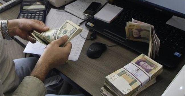 Israel official praises world block on Iran banks