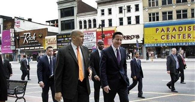 British PM Cameron visits 9/11 memorial in NYC