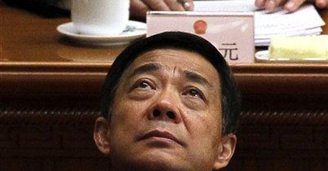 Top Chinese politician's ouster tied to nepotism