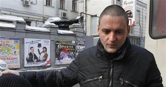 Court frees Russian opposition leader Udaltsov