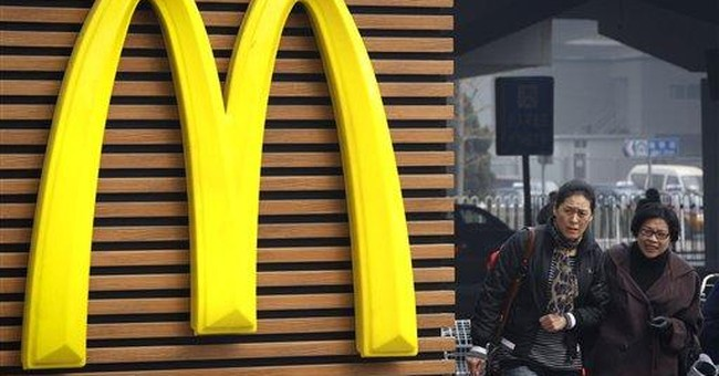 Chinese state TV targets McDonald's, Carrefour