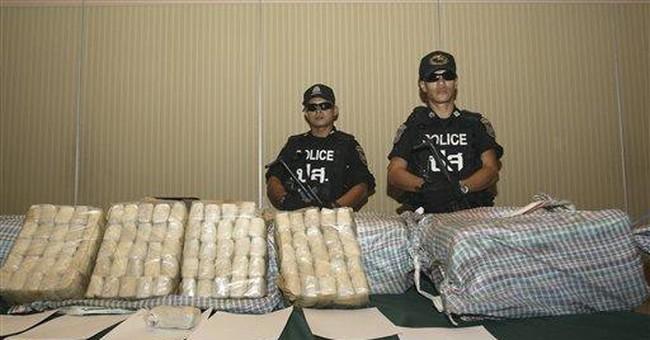 Thai authorities seize 2.5 million meth pills