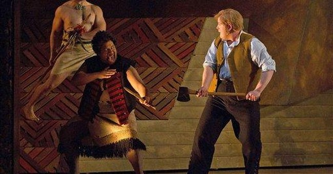 New opera celebrates imprisoned Maori hero