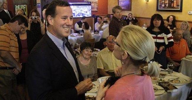 Santorum says Illinois 'can shake up' GOP race