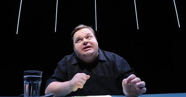 Artist admits to shortcuts in show about Apple