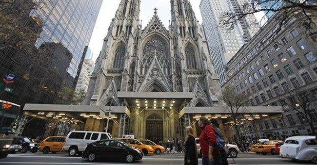 NYC's St. Patrick's Cathedral set for renovation