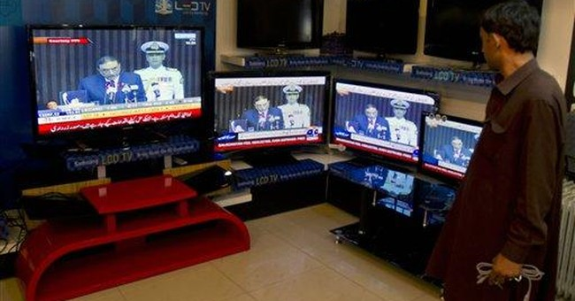 Pakistan president boasts gains in terror war