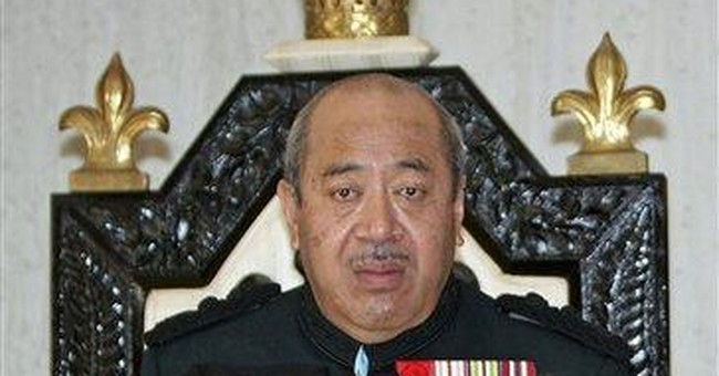 Tonga king funeral March 28; 3 months of mourning
