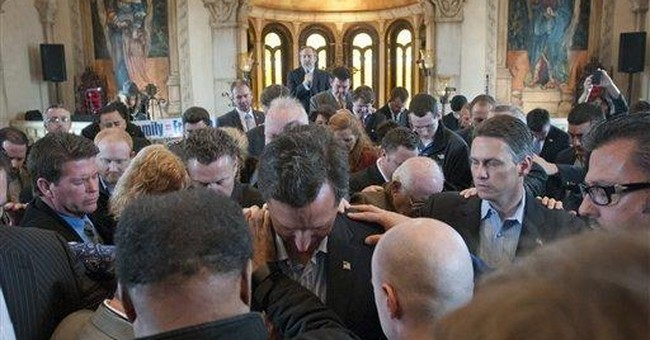Republican Catholics cool so far to Rick Santorum