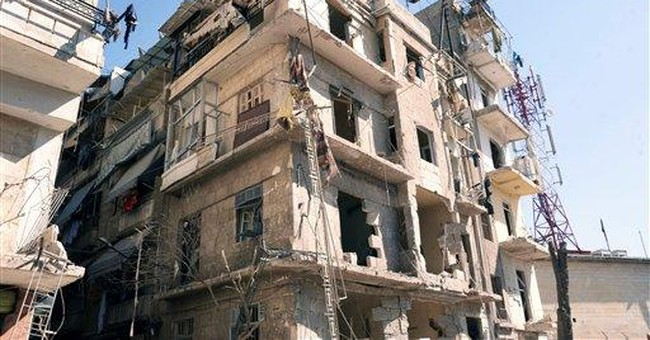 Explosion near Syrian security building in Aleppo