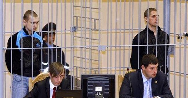 Belarus executes 2 men convicted of subway bombing