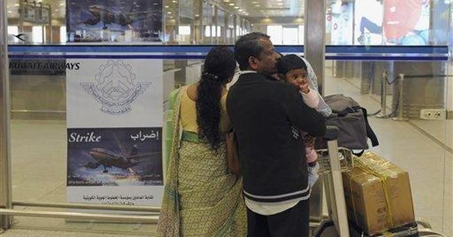 Striking workers ground Kuwait Airways flights