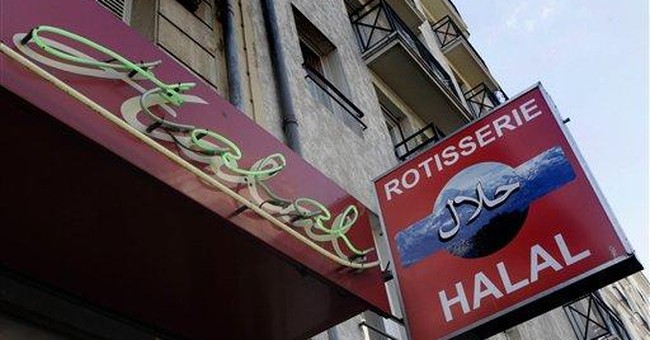 Butchers beef up French presidential campaign