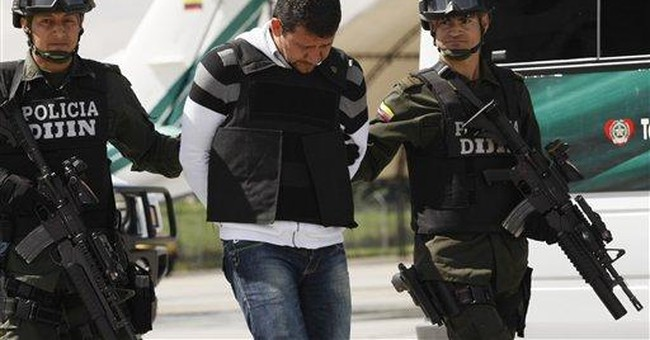 Brother of 2 top Colombian drug suspects sent home
