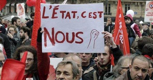 Thousands rally for far-left French candidate