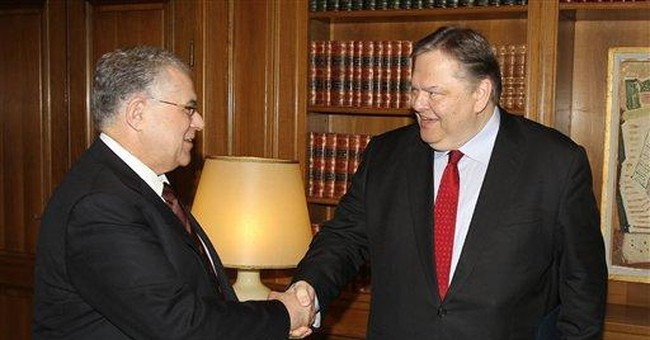 Greek finance chief leaves to head Socialists