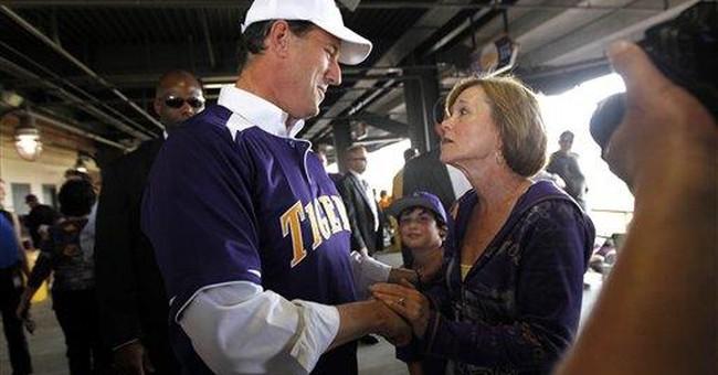 GOP voters' passion uneven for Romney, Santorum