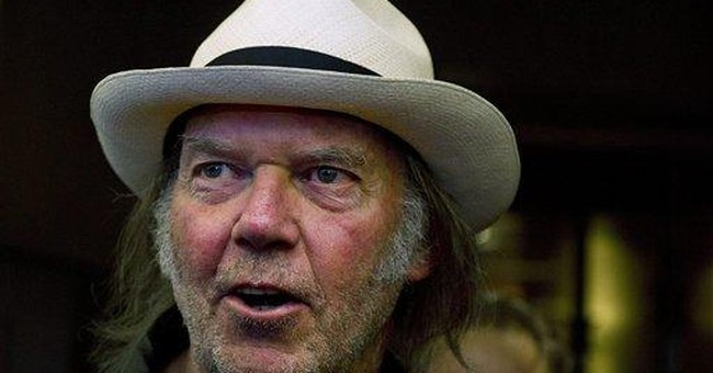 Neil Young to speak at book convention