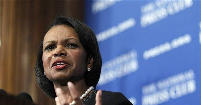 Condoleezza Rice: US can't retreat in Afghanistan