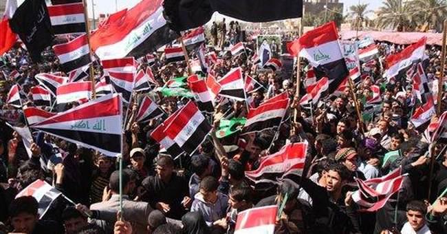 Iraqis demand better services on war anniversary