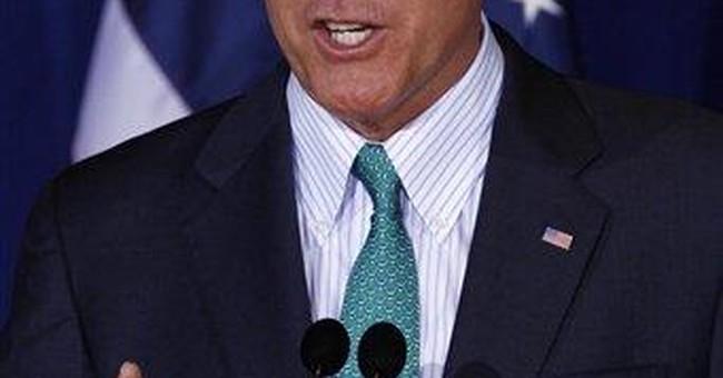 Romney targets Obama in speech on economic freedom
