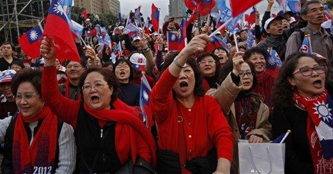 Rallies held week before Taiwan presidential poll