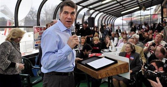 Perry likens SC stand to Alamo