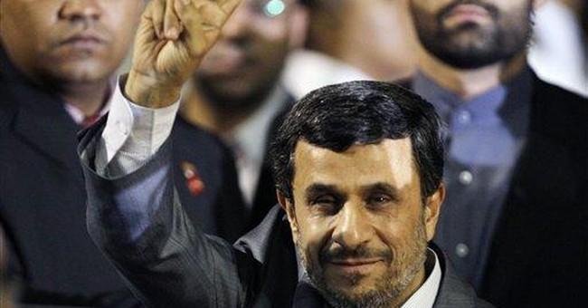 Iran's leader arrives in Venezuela to meet Chavez