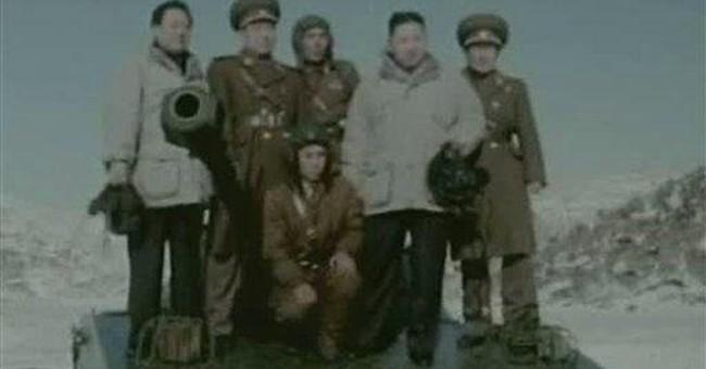 NKorean TV shows young Kim threatening war in 2009