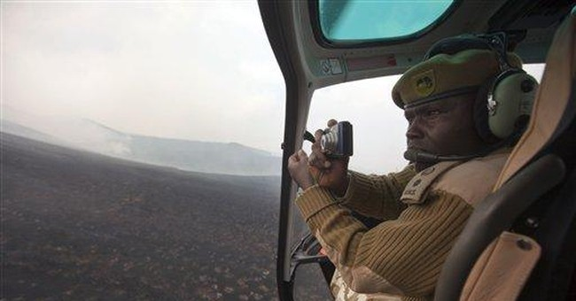 Fires on Mount Kenya may have been set by poachers