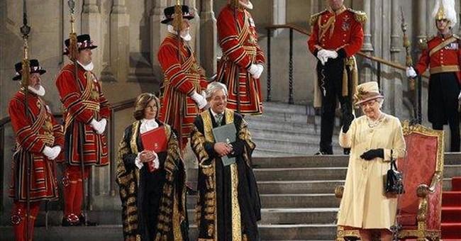 UK's Queen Elizabeth II pledges to continue ruling