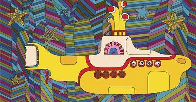 Beatles' 'Yellow Submarine' movie restored for DVD