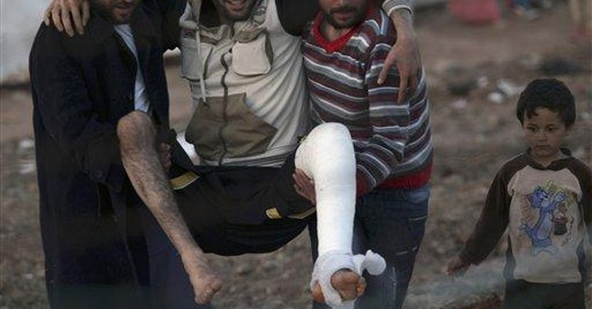 Syrian rebels outgunned, struggling for supplies