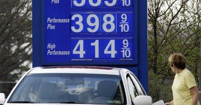 Ad attacks Obama on gas prices with faulty logic