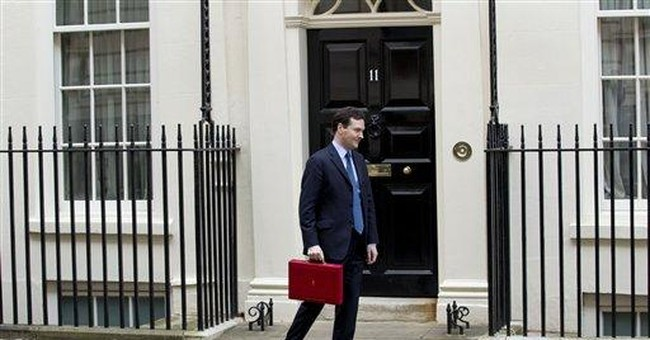 UK to cut top income tax rate to 45 pct