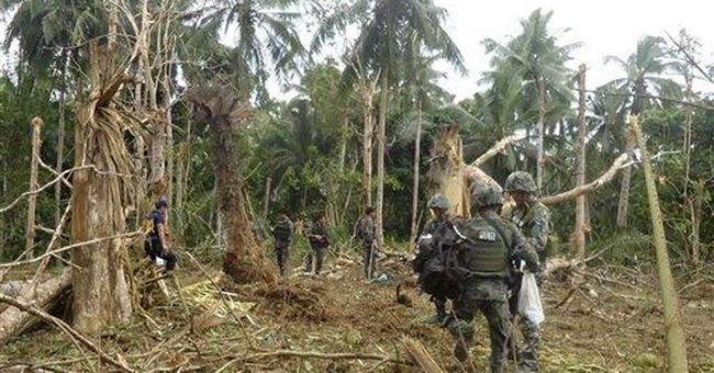 AP Enterprise: Philippines using US smart bombs